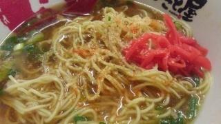 ラーメンまこと屋 鶏じゃんラーメン 替玉(牛じゃんの麺)