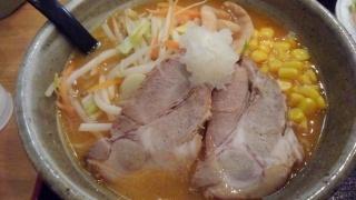 らくらく亭 鶏骨赤味噌ラーメン(大)@エブリーイオン新金岡店