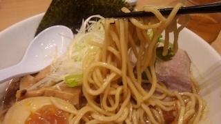 うまい麺には福きたる 煮干し醤油らーめん 麺2