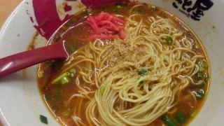 ラーメンまこと屋 赤旨鶏じゃんラーメン 替玉(牛じゃん麺)