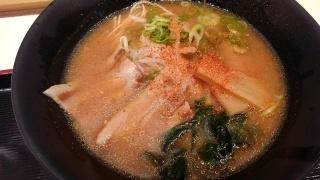 うまかラーメン みそラーメン(細麺大盛)@阪神スナックパーク