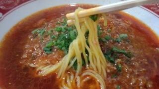 中華料理長城 担々メン 麺