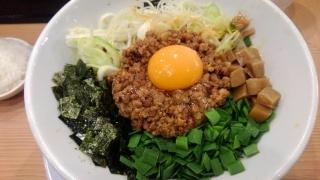 麺や マルショウ 台湾まぜそば(大盛)@地下鉄新大阪店