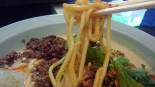 ちゃんぽんCavolo ピリ辛担々麺 麺