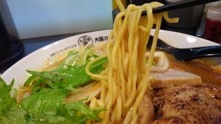 大阪イレブンスパイス+ ウルトラチキンカリー拉麺(大盛) 麺