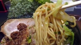 五郎家 おなじみラーメン全部のせ(コク増し) 麺