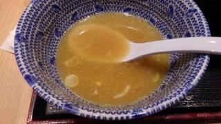舎鈴 つけめん(大盛) スープ割