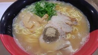 まるたけラーメン あごだし魚醤とんこつラーメン@イオンモール堺鉄砲町店