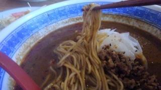 一膳屋 わ 黒ごま担々麺 麺