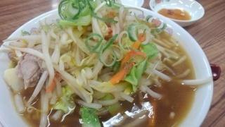 餃子の王将 野菜煮込みラーメン@皇子山店