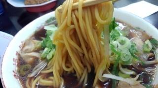 新福菜館 中華そば 麺