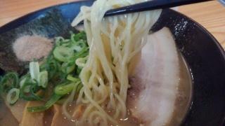 大龍亭 魚介豚骨ラーメン 麺