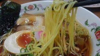 餃子の王将 中華そば 麺