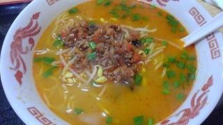 悦来閣 拉麺(担担麺)@天王寺