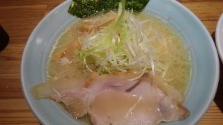 麺と出汁が絡むとき 絡むネギラーメン@大阪駅前第2ビル
