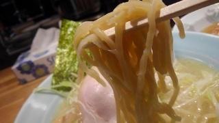 麺と出汁が絡むとき 絡むネギラーメン 麺