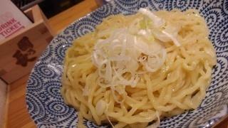 麺と出汁が絡むとき 絡むネギラーメン 替玉