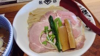 別邸たけ井 濃厚鶏豚骨(つけ麺)@なんばラーメン一座店