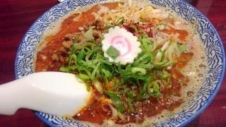 dan dan noodles 魚担々麺@なんばらーめん一座店
