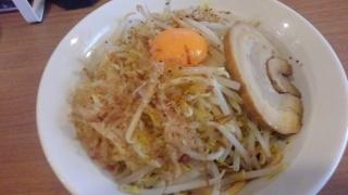 麺屋ガテンZ MAZEそば@難波