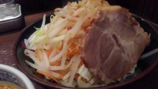 三田製麺所 二代目背脂番長 野菜