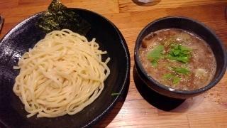 つけ麺 雀 つけ麺(中盛)@夕陽丘店