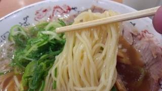 丸醤屋 丸醤ラーメン 麺