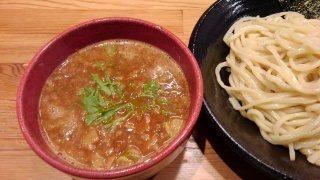 つけ麺 雀 辛つけ麺(大盛)@夕陽丘店