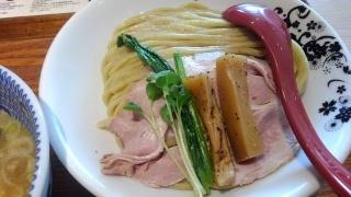 別邸たけ井 あっさり鶏豚骨(つけ麺) 麺