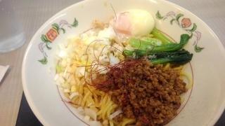 餃子の王将 汁なし担々麺@昭和町店