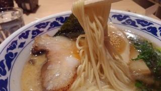 九州らーめん 亀王 亀王らーめん昔味 黒 麺