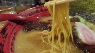 花丸軒 トロコツ1本のせラーメン 麺