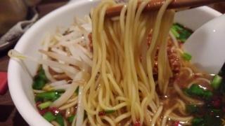 元祖熟成細麺 香来 台湾ラーメン 麺