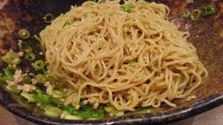 汁なし担担麺専門 キング軒 汁なし担担麺(大盛) かき混ぜ後