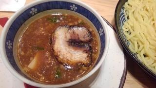 九州ラーメン 亀王 肉たれ濃厚魚つけ麺@天王寺駅前店