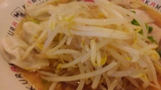 どうとんぼり神座 ワンタン麺 もやし
