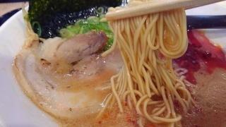河童ラーメン本舗 赤河童ラーメン 麺