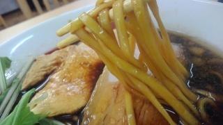 麺処 ほへと 黒しょうゆラーメン 麺