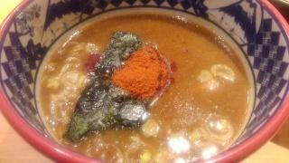 三田製麺所 灼熱つけ麺 つけダレ