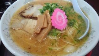 拉麺ことぶき家 Wスープ@橋本市